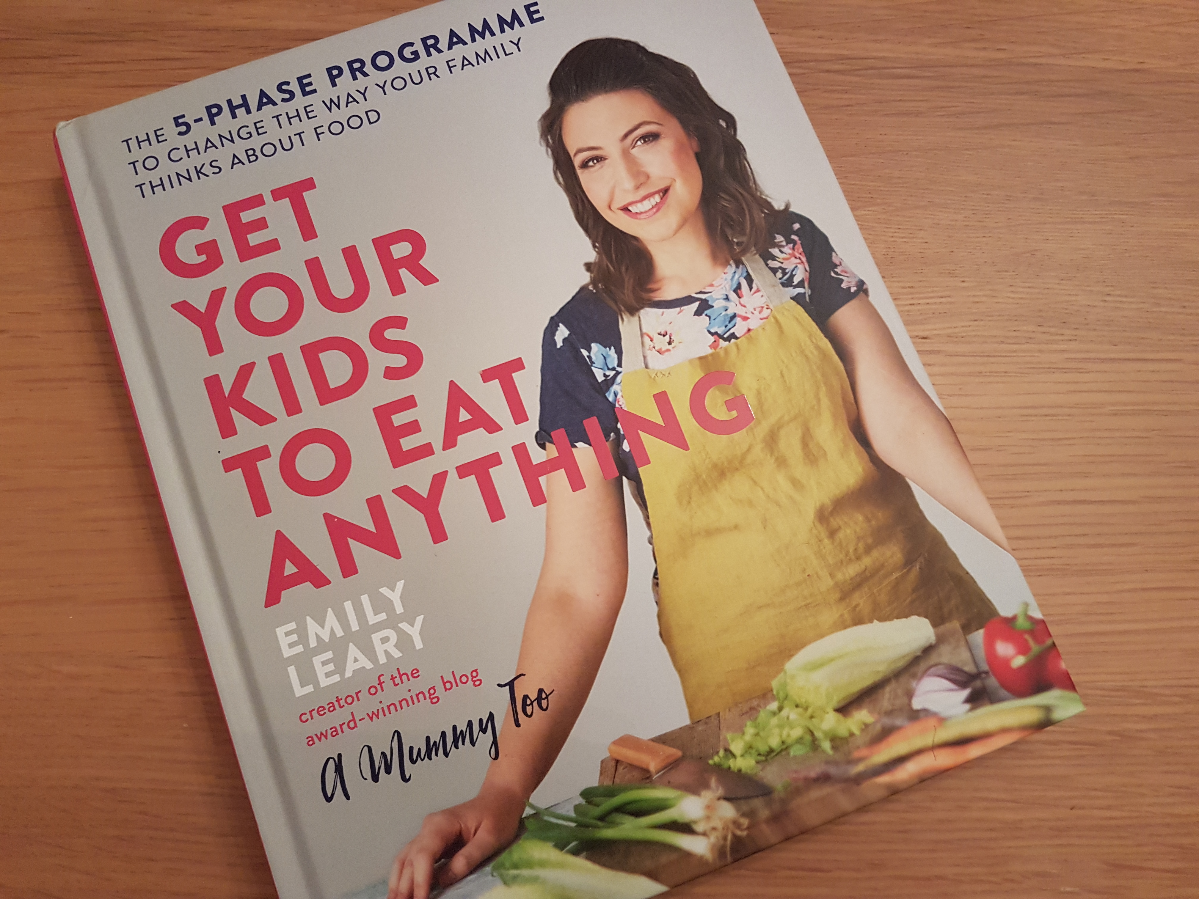 Review of Get Your Kids to Eat Anything by Emily Leary