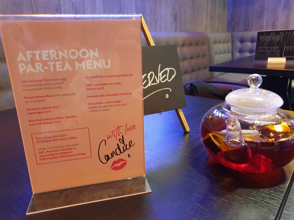 review of afternoon tea at the village hotel
