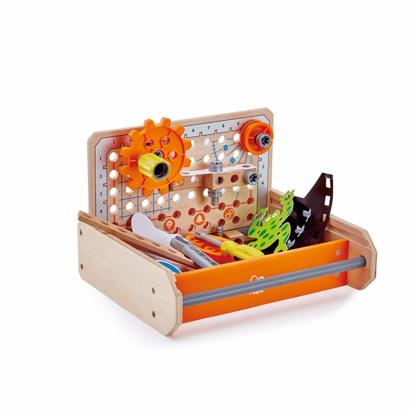 Christmas gift guide for toddlers, Best wooden toys for toddlers, Hape Science Experiment toolbox