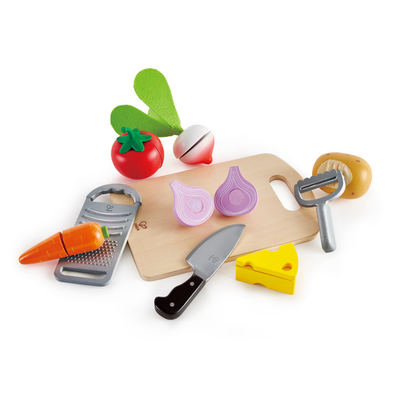 Best wooden toys for toddlers, Hape cooking essentials