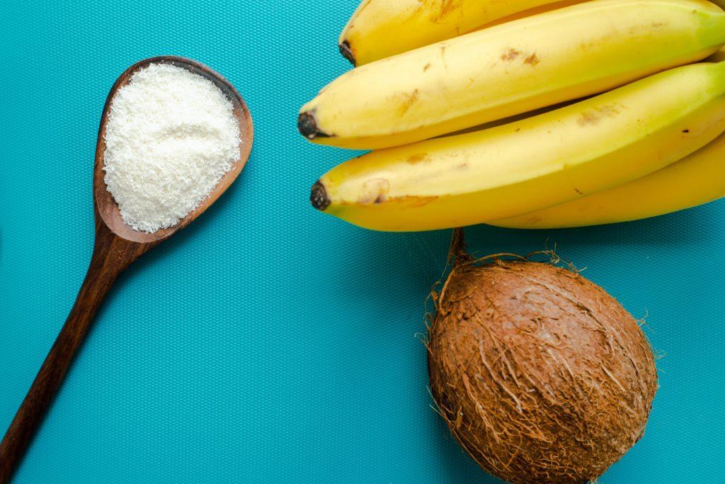 banana coconut pudding