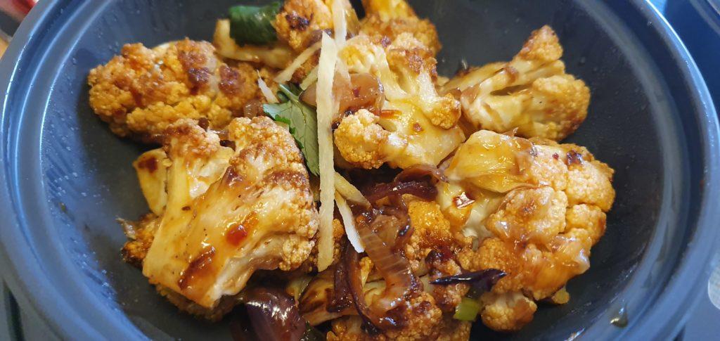 Wagamama vegan menu review bang bang cauliflower